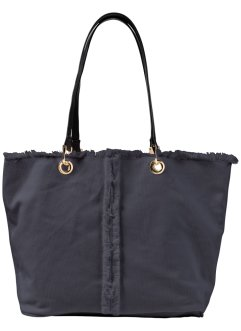Borsa con orli sfrangiati, bpc bonprix collection