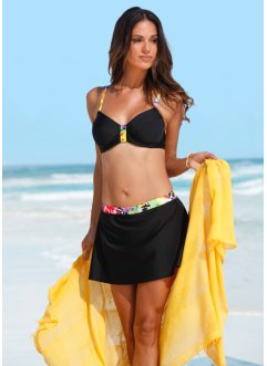 Bikini minimizer con ferretto, bpc bonprix collection, Nero