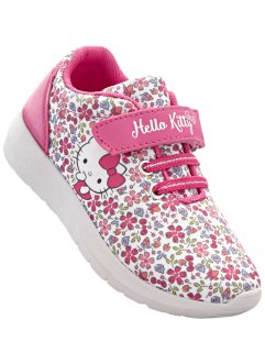 "Sneaker ""HELLO KITTY"", Hello Kitty, Bianco / a fiori"