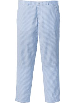 Pantalone in seersucker slim fit straight, RAINBOW