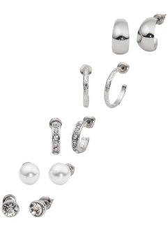 Set di orecchini (set 10 pezzi), bpc bonprix collection