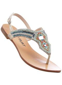 Sandalo infradito in pelle (Blu) - BODYFLIRT El Pago De Visa Aclaramiento Imágenes Costo De Salida f63lNp4L