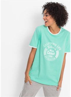 T-shirt in cotone a mezza manica, bpc bonprix collection
