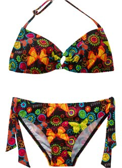 Bikini, bpc bonprix collection, Nero fantasia