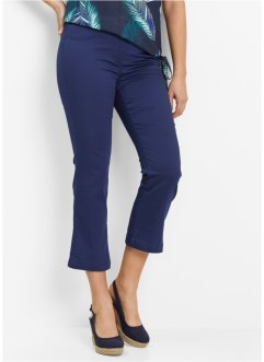 Pantaloni 7/8 super elasticizzati, bpc bonprix collection, Blu notte