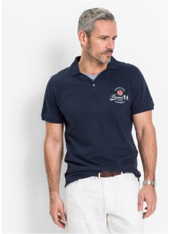 Polo regular fit, bpc selection, Blu scuro