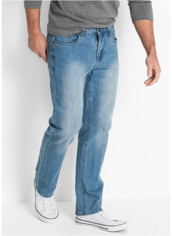 Jeans elasticizzato regular fit straight, John Baner JEANSWEAR