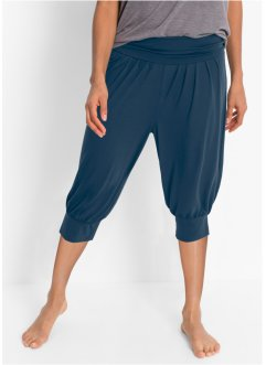 Pantaloni per wellness, bpc bonprix collection, Blu scuro