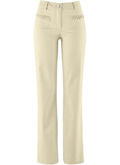 Pantalone elasticizzato a gamba larga, bpc bonprix collection