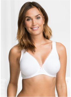 Reggiseno in cotone e modal, bpc bonprix collection