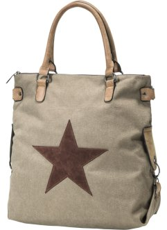 Borsa in canvas, bpc bonprix collection