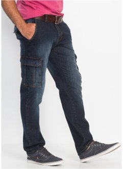 Jeans cargo regular fit straight, John Baner JEANSWEAR