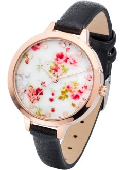 Orologio con fiorellini, bpc bonprix collection