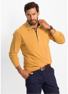 Polo a manica lunga regular fit, bpc selection