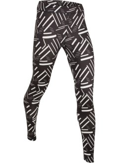 Leggings fantasia lungo per lo sport, bpc bonprix collection