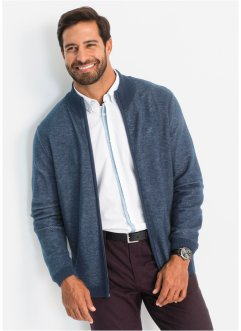 Cardigan a collo alto regular fit, bpc selection