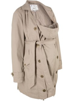 Trench prémaman con porta-bimbo, bpc bonprix collection