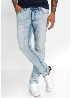 Jeans in felpa skinny fit straight, RAINBOW