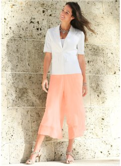 Pantalone in chiffon 3/4, bpc selection