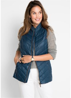 Gilet con inserti a costine, bpc bonprix collection