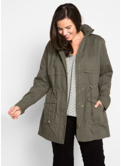 Parka foderato in jersey, bpc bonprix collection