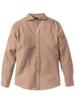 Camicia a quadri  in flanella regular fit, bpc selection