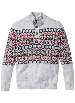 Pullover con bottoni regular fit, bpc bonprix collection