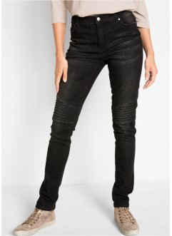 Jeans in stile biker Maite Kelly, bpc bonprix collection