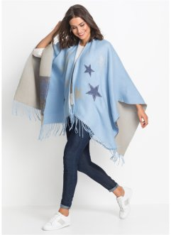 Poncho con stelle, bpc bonprix collection