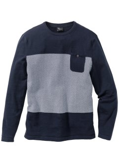 Pullover con tasche regular fit, bpc bonprix collection