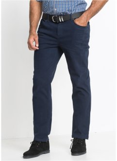 Pantalone elasticizzato con cinta comoda regular fit straight, bpc bonprix collection