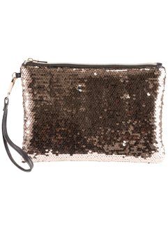 Pochette con paillettes reversibili, bpc bonprix collection