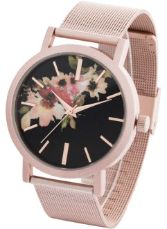 Orologio con motivo floreale, bpc bonprix collection