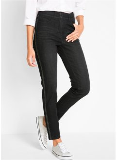 Jeans con bande laterali, bpc bonprix collection