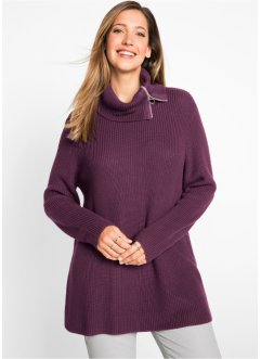 Pullover con cerniera, bpc bonprix collection