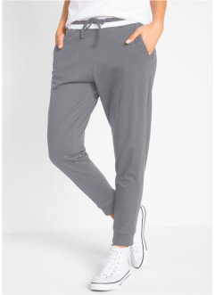 Pantalone in felpa a righe corto, bpc bonprix collection
