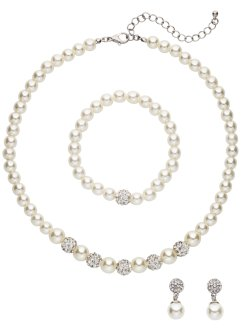 Parure con perle, bpc bonprix collection