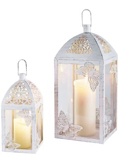 "Set di lanterne ""Pia"" (set 2 pezzi), bpc living"