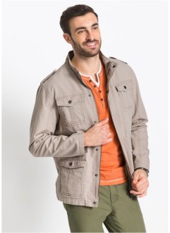 Giacca in stile militare regular fit, bpc selection