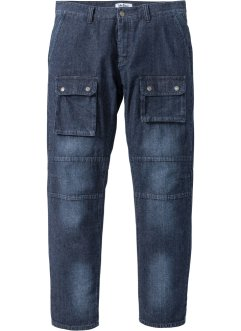Jeans cargo leggero regular fit straight, John Baner JEANSWEAR