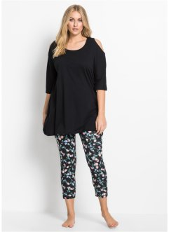 Pigiama con leggings 7/8, bpc bonprix collection