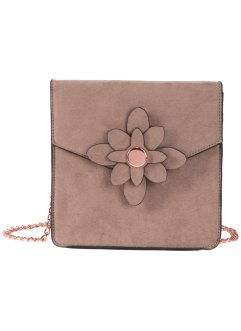 Borsa a tracolla con fiore, bpc bonprix collection
