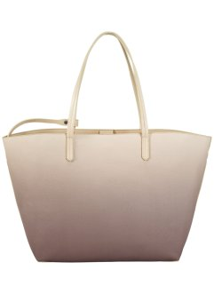 Borsa shopper sfumata, bpc bonprix collection