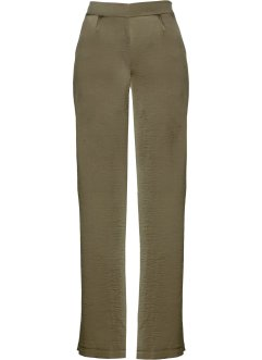 Pantalone in satin ampio con spacchi, bpc selection premium