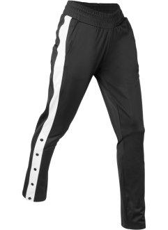 Pantalone lungo da jogging con bottoni, bpc bonprix collection