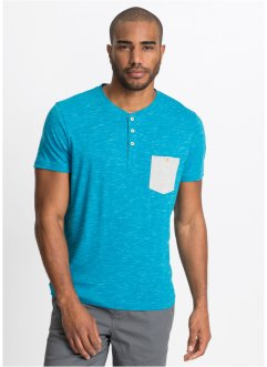 Maglia con bottoncini regular fit, bpc bonprix collection