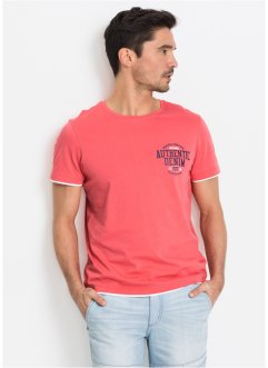 T-shirt in look doppiato regular fit, John Baner JEANSWEAR