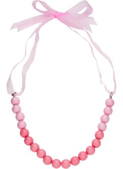 Collier di perle con nastrino di satin, bpc bonprix collection