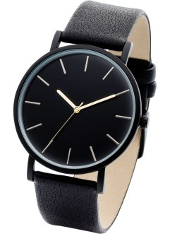 Orologio con quadrante nero, bpc bonprix collection