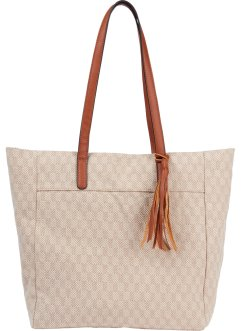 Borsa shopper in cotone, bpc bonprix collection